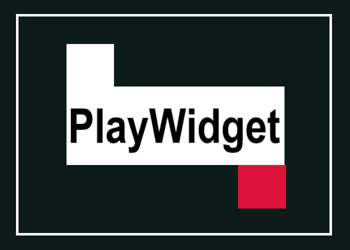 PlayWidgetを表す画像