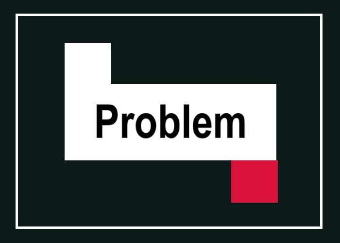 問題提起を表す画像