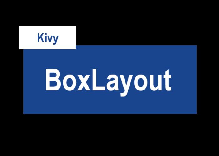 KviyのBoxLayoutを表すサムネイル