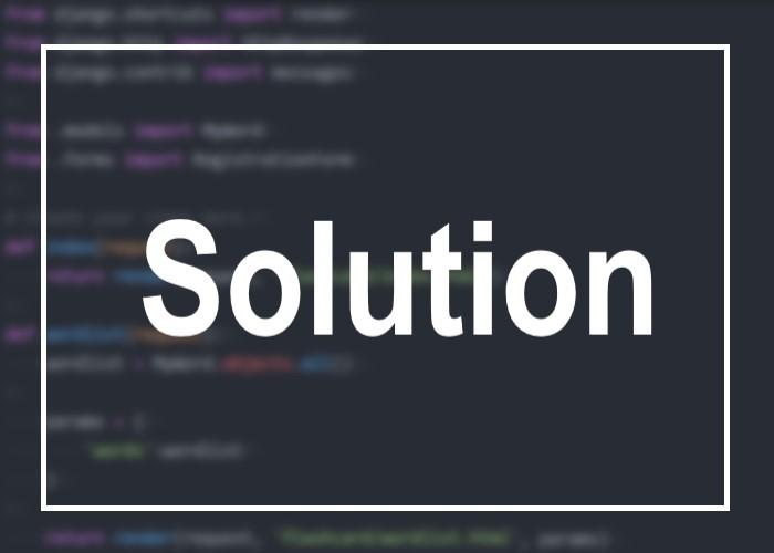 解決方法を表す画像