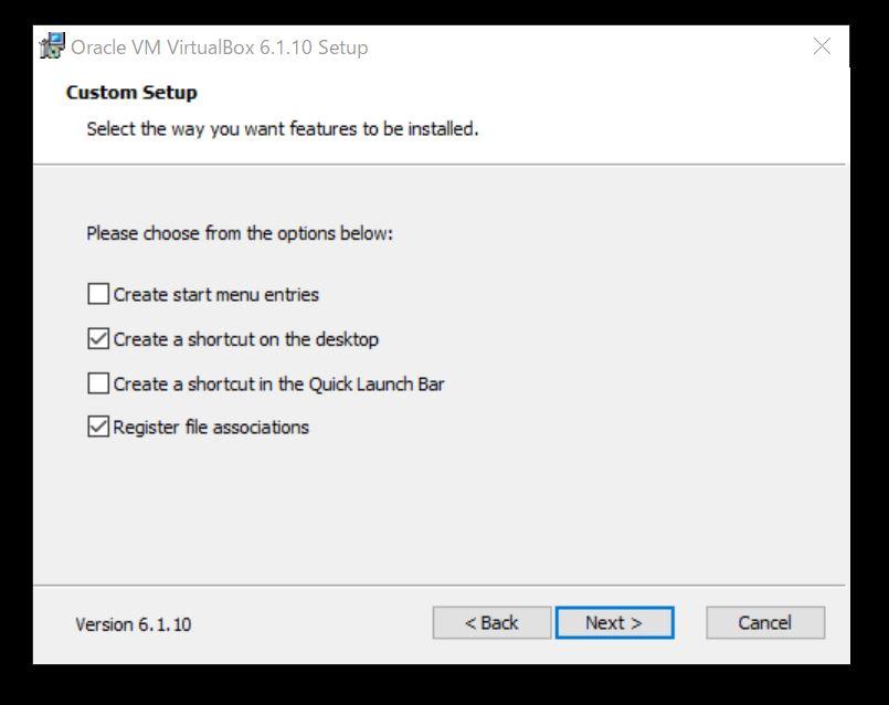 ファイルやショートカットの設定